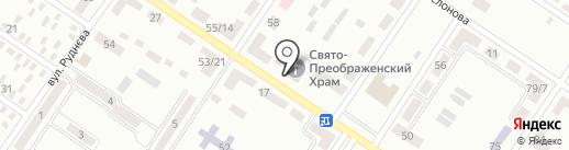 Спасо-Преображенский храм на карте Макеевки