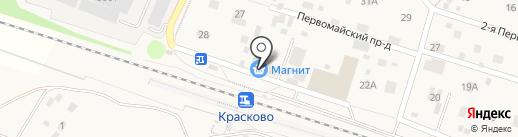 Сударь на карте Малаховки