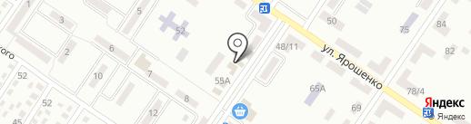 Магазин хозяйственных товаров на Монтажной на карте Макеевки
