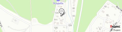 Миранда на карте Геленджика