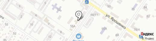 Магазин хозтоваров на карте Макеевки
