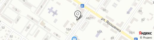 Магазин женской одежды на карте Макеевки