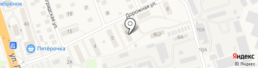 Спецсвязьстрой на карте Октябрьского