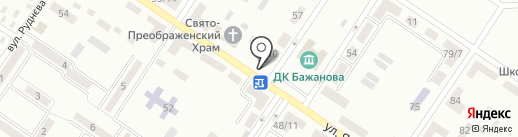 Дуэт, продуктовый магазин на карте Макеевки