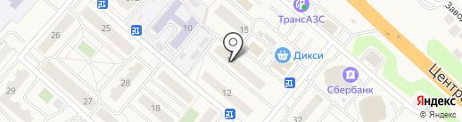 Подмосковное на карте Островцев