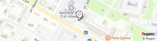 Кортуш на карте Щёлково