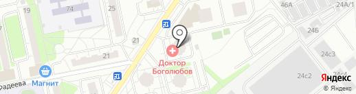 Школа дизайна Станислава Орехова на карте Балашихи