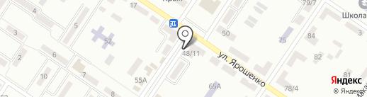 Магазин яиц на Монтажной на карте Макеевки