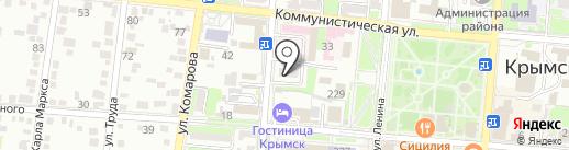 Управление по физкультуре и спорту на карте Крымска