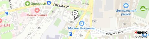 Домовой на карте Крымска