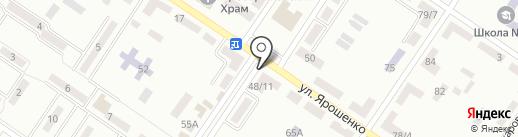 Рублевка на карте Макеевки