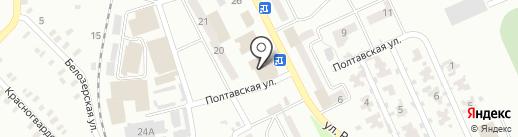 Центральный, ПО на карте Макеевки