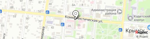 Банкомат, Всероссийский банк развития регионов на карте Крымска