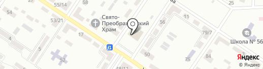 Грация на карте Макеевки