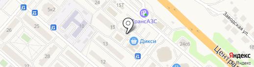 Магазин разливного пива на Подмосковной на карте Островцев
