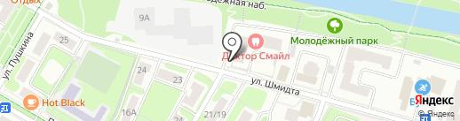 Красное & Белое на карте Щёлково