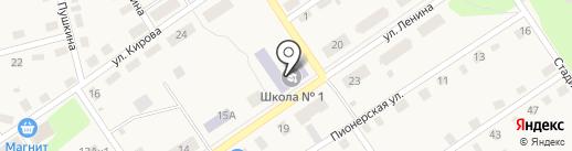 Октябрьский центр образования, МБОУ на карте Киреевска