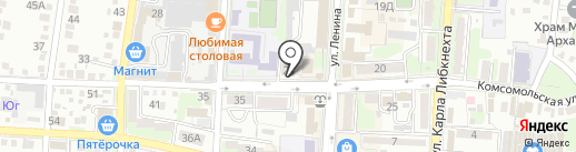 Юлмарт на карте Крымска