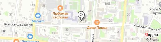 Триумф-Про на карте Крымска