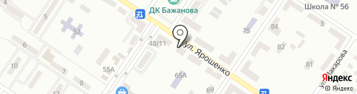 Фаворит на карте Макеевки