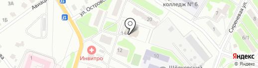 Катюша на карте Щёлково