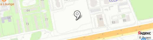 СоюздорНИИ на карте Балашихи