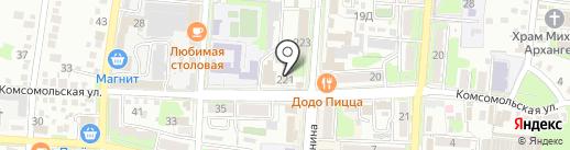 Банкомат, Россельхозбанк на карте Крымска