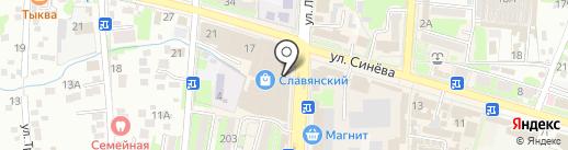 Vento на карте Крымска