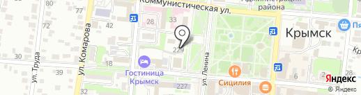 Крайинвестбанк на карте Крымска