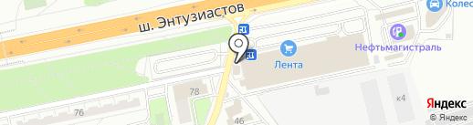 АвтоМ9 на карте Балашихи