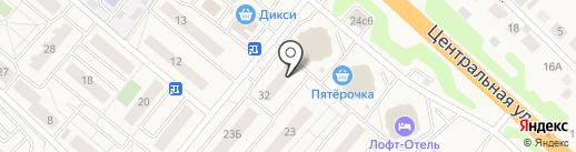 Магазин товаров для ремонта на карте Островцев