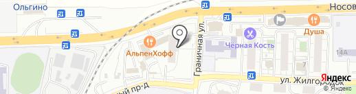 Инспекция Гостехнадзора Московской области по Балашихинскому району на карте Балашихи