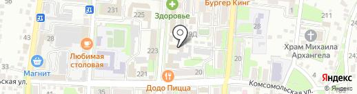 Отдел МВД России по Крымскому району на карте Крымска