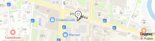 Магнит Косметик на карте Крымска