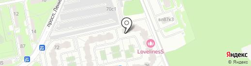 Продовольственный магазин на карте Балашихи