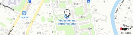Государственное управление Ветеринарии Крымского района на карте Крымска