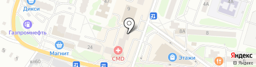 Скрепка на карте Щёлково