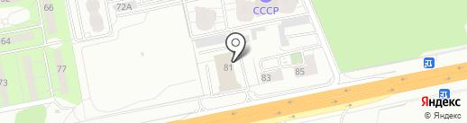 Управление автомобильной магистрали Москва-Нижний Новгород на карте Балашихи