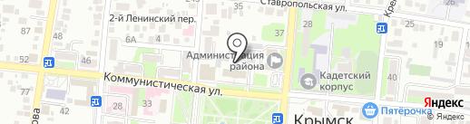 Ортодонт-центр на карте Крымска