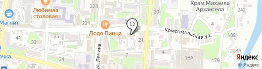 Бюро медико-социальной экспертизы по Краснодарскому краю на карте Крымска