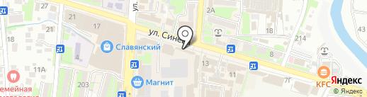 У Инги на карте Крымска