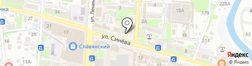 SPA-Альганика на карте Крымска