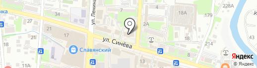 Светоч на карте Крымска