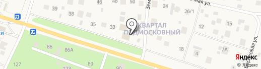 Малаховский Очаг на карте Малаховки
