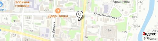 Барышня на карте Крымска