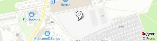 Hankook на карте Балашихи