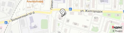 Lakshery на карте Железнодорожного