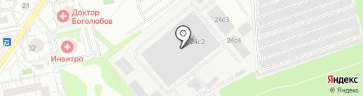Bares-M на карте Балашихи