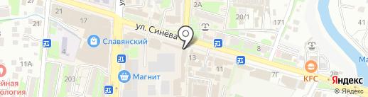 Хоттабыч на карте Крымска