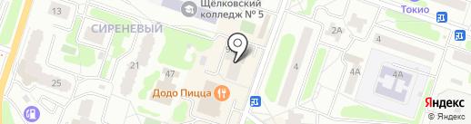 Дизайн-студия Ирины Локалиной на карте Щёлково